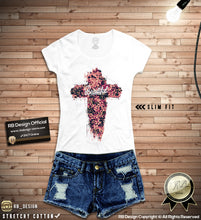 rb design art flowers t-shirt
