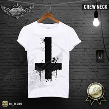 graphic crew neck male shirt