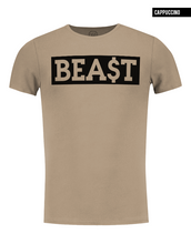 crew neck beast muscle fit t-shirt