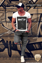 dont be normal scoop neck t shirt
