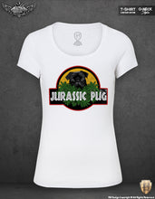 rb design jurassic pug t-shirt