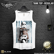 mens tank top sexy naked girl stormtrooper