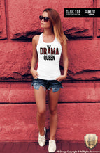 drama queen tank top for women