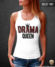 womens tank top drama queen