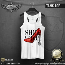 womens shoe addict tank top fashion cool tees