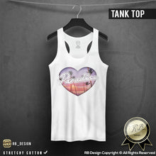 paradise graphic tank top for women