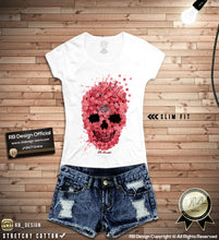 womens skull tee shirts rb design