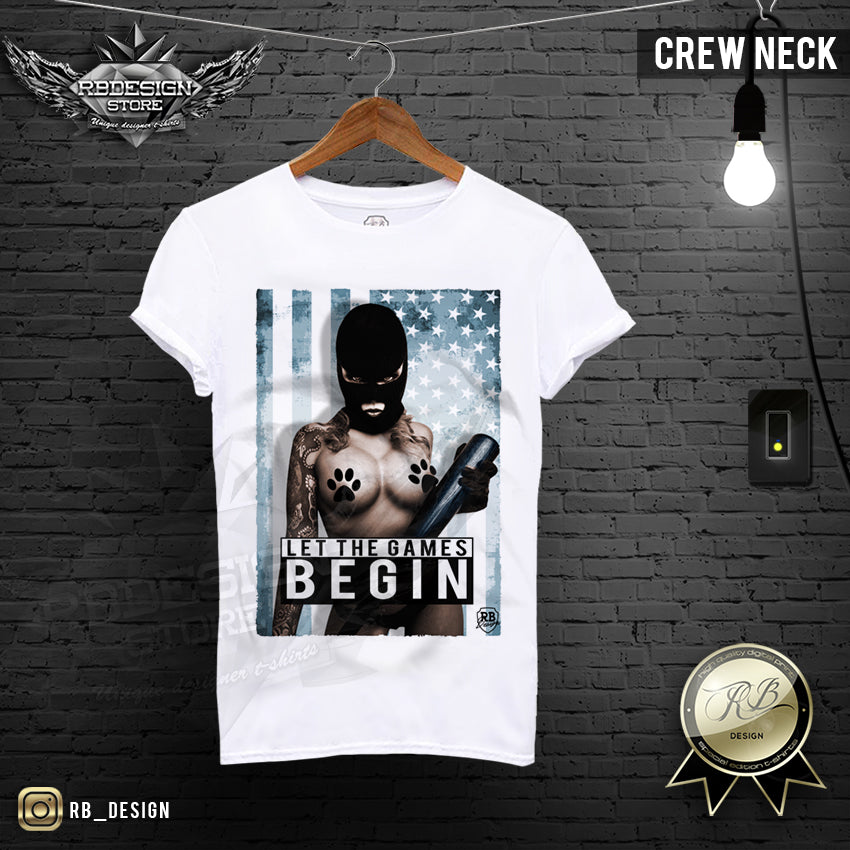 Men's T-shirt Sexy Naked Gangsta Girl Tank Top MD206