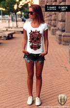 ladies skull t-shirt