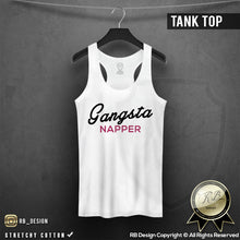 womens tank top gangsta napper