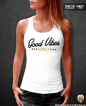 positive vibes womens tank top