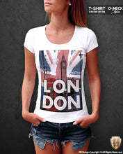 womens graphic london tees