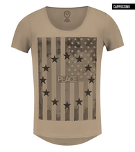 beige mens fashion graphic tees