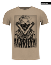 crew neck marilyn monroe t-shirt