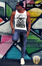 urban style graphic tank top gangster