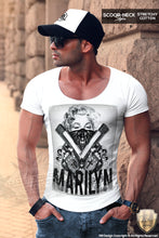 Marilyn Guns Mens T-shirt Movie Star Gangsta Girl MD255