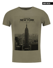 army green new york t-shirt