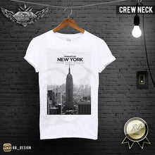 New York Fifth Avenue T-shirt Empire State Building Graphic Tee MD258