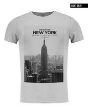 gray crew neck manhattan t-shirt