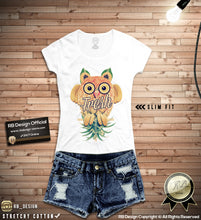 cute owl womens shirts