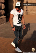 skull graphic tee mens outfit