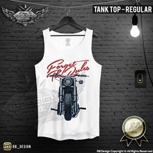 vintage retro bike tank top