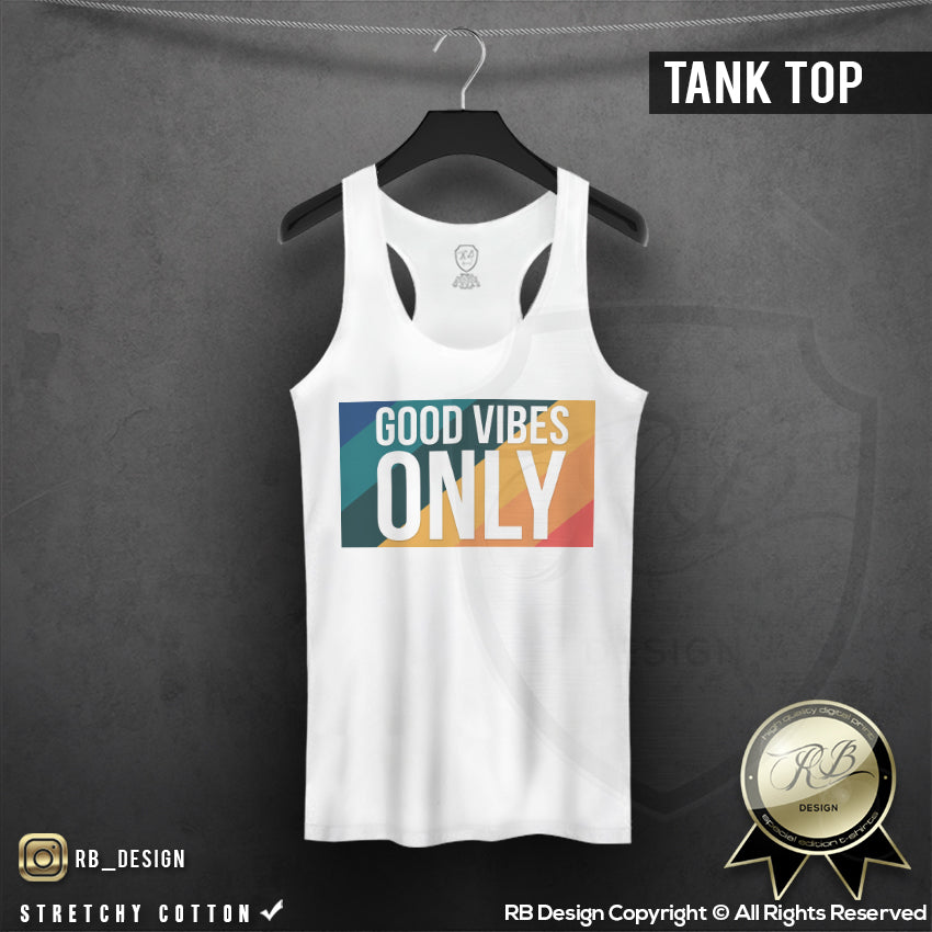 motivated slogan womens tank top