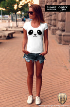 cute animal lover gift panda tee