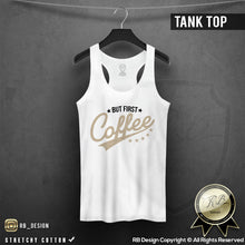 but first coffee tank top rb design