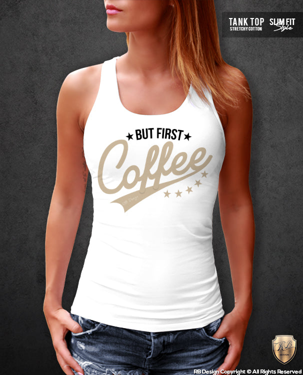 coffee lover tank top