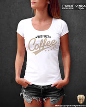 but first coffee tumblr t shirt