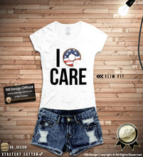 i donut care funny womens tee shirts