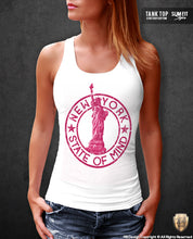 New York State of Mind Women's T-shirt Statue of Liberty Tank Top WD347