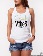 Fashion Women's T-shirt With Sayings Good Vibes  WD360