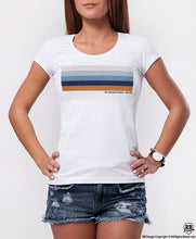 Cool Women's T-shirt With Vintage Effect  WD371