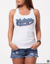 "Cool Women's Graphic T-shirt ""Vintage"" WD380"
