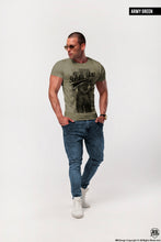 "Men's Graphic T-shirt ""Bad Girl"" / Color Option / MD389"