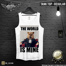 tony montana parody regular tank top