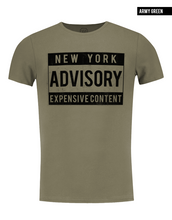 new york army green t-shirt