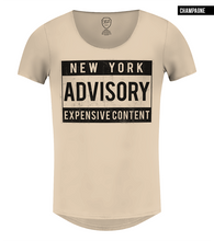 new york fashion t-shirt beige color