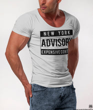 "Men's T-shirt ""New York Expensive Content"" / Color Option / MD465"