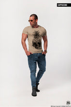 Men's Pineapple Skull T-shirt Cool Graphic Tee / color option / MD486