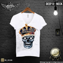 golden crown skull mens fashion tees