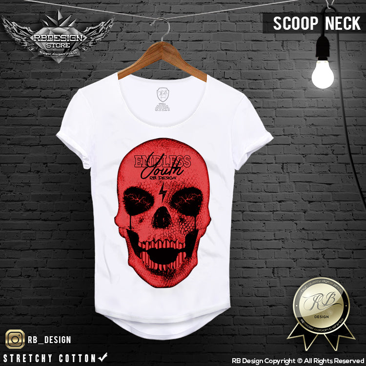 red skull designer mens t shirts