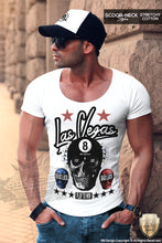 Men's Las Vegas Skull T-shirt Lucky Play To Win RB Design Tank Top MD536