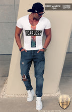 deep v neck fashion tees