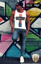 fearless lion tank top