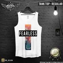 fearless lion training tank top mens