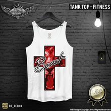 Beast Lion Cross T-shirt Men's Training Tank Top MD561