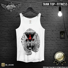 angry rawr cheetah mens fitness tank top